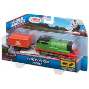 LOCOMOTIVA MOTORIZATA CU VAGON THOMAS & FRIENDS - PERCY - MATTEL (BMK87-BML07)