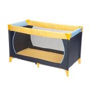 Hauck 604038 Dream'n Play - Cuna de viaje (60 x 120 cm), color amarillo y azul