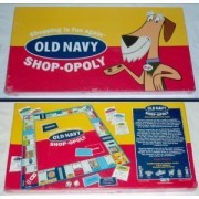 OLD NAVY SHOP-OPOLY - Board Game by Late for the Sky