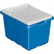 LEGO Education Storage Bin Blue 12 x 16.5 x 10 4282564 (Pack of 6 Bins)