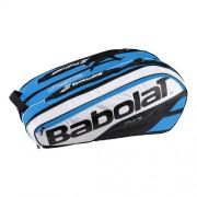 Babolat - Pure Geanta Tenis X12 Rachete negru/alb/albastru turcoaz