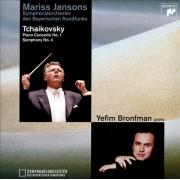 Tchaikovsky:Piano Concerto nr.1-Symphony nr.4 - Mariss Jansons,Yefim Bronfman-piano (CD)