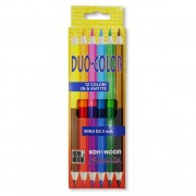 Creioane color DUO 6 bucati / set Koh-I-Noor KINIT2191-06