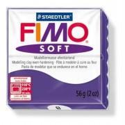 Gyurma, 56 g, égethető, FIMO Soft, szilva (FM802063)