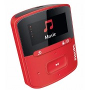 MP3 Player Philips GoGEAR 4GB (Rosu)