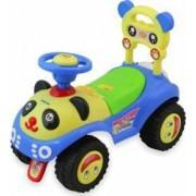 Masinuta de impins copii Baby Mix Panda ZDX7601 Blue