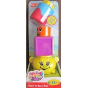 Fisher Price Stack 'n Surprise Blocks - Peek-a-Boo Bee
