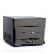 Itek Case nCUBE '11 Mini ITX 200W PSU Full Black - con card reader multifunzione