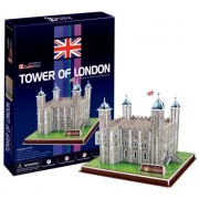 Tower of London - World Great Architecture - 40 Pieces 3D Puzzle - Cubic Fun Series