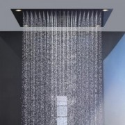 Dus tavan 97x97cm cu lumini Hansgrohe gama Axor Starck Organic