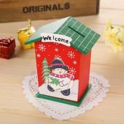 Magideal Kids Children Money Coin Saving Box Christmas Santa Piggy Bank Toy Gift