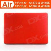 """ENKAY Protective Matte Hard Case for Macbook Air 11.6"""" - Red"""