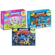 Maven Gifts: Playmobil Santas Workshop Advent Calendar With Dragons Treasure Battle Advent Calendar And Unicorn Fairyland Advent Calendar
