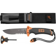 Нож универсален Беар Грилс ULTIMATE KNIFE SERRATED фиксирано острие, Survival, 31-000751, Gerber