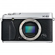 Fujifilm X-E2 16.3 MP Compact System Digital Camera With 3.0-Inch LCD - Body Only (Silver)
