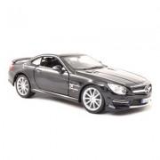 Modèle Réduit Mercedes Benz Sl 65 Amg Hardtop : Collection Plus : Echelle 1/18 : Noir