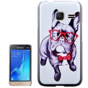 Bulldog Pattern PC Protective Case for Samsung Galaxy J1 Mini / J105