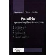 Prejudiciul. Repere romanesti in context european - Calina Jugastru