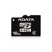 Secure Digital Card micro SDHC 16GB class4 ADATA (AUSDH16GCL4-R)