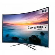Televizor LED Samsung UE55KU6502, curbat, smart, Ultra HD, PQI 1600, 55 inch, DVB-T2/C/S2, argintiu