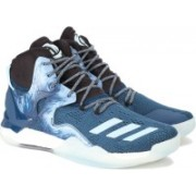 Adidas D ROSE 7 Basketball Shoes(Blue)