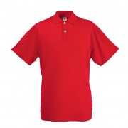 Fruit of the Loom Original Men's Polo Shirt Red L