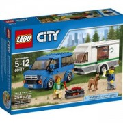 Конструктор ЛЕГО СИТИ-БУС И КАРАВАНА, LEGO City Van and Caravan, 60117