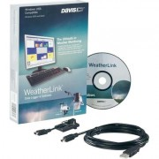 Vezeték nélküli adatgyűjtő adatlogger szoftverrel USB-s Davis Instruments Weather Link(R) (672576)
