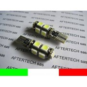 LAMPADINE TARGA 9 LED CANBUS 5000K CDB T10 W5W L95