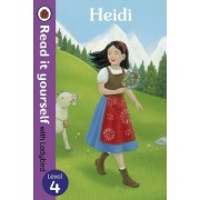 Heidi - Read it Yourself with Ladybird by Tamsin Hinrichsen