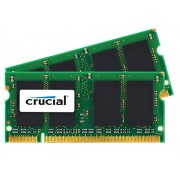 Crucial CT2G2S800MCEU Memoria per Mac da 2 GB, DDR2, 800 MHz, (PC2-6400) SODIMM, 200-Pin