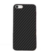 Husa de protectie FLOVEME Carbon pentru iPhone 5 / 5S / SE, Black