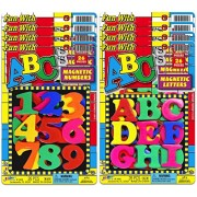 Ja-Ru ABCs Magnetic Letters and Numbers Party Favor Bundle Pack