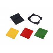 Kit 3 filtre + holder Commlite Black & White compatibile Cokin P