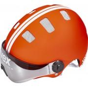 UVEX city v Helm red-white mat 55-58 cm Fahrradhelme