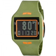 Vestal Unisex HLMDP22 Helm Digital Display Quartz Green Watch