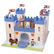 Nuovi giocattoli classici - 1030 - statuetta Cavaliere e del castello - Lenin Giocattoli - My First Castello