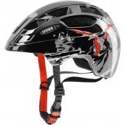 UVEX finale Junior Helmet dragon red black 2017 51-55 cm Kinderhelme