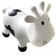KidzzFarm Betsy the Cow Animal Hopper (White/ Black) by KidZZFarm