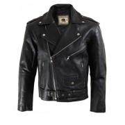 Kultowa kurtka motocyklowa czarna RAMONESKA