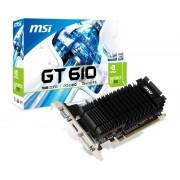 MSI nVidia GeForce GT 610 1GB 64bit N610-1GD3HLPV1