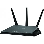 Netgear R7000-100INS Nighthawk AC1900 Dual Band WiFi Gigabit Router (Black)