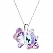 Colier de argint Preciosa (Vitrail Light) - Magic Butterfly