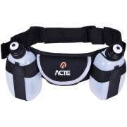 Cinturão De Hidratação Com Duas Garrafas Acte Sports