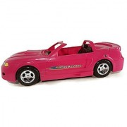 Starletz Glam Pink Free Wheeling Convertible Licensed Ford Mustang Car for Barbie SIS and Fashion Dolls