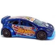 12 Ford Fiesta 1:64 Hw Race Team 4/5 Car By Hot Wheels
