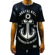 Camiseta Brutal Kill Anchor Tye Dye