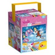 Lisciani Giochi 53537 - Puzzle in a Tub Maxi Cinderella, 120 Pezzi, Multicolore