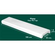Albardilla cubremuros de 22x6x100 plano