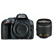 Nikon D5300 kit (AF-P 18-55mm VR) (gri)